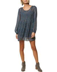 O'neill Sportswear - Summerland Convertible Romper Dress - Lyst