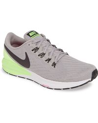 19065066c1b Lyst - Nike Men s Zoom Structure 19 Running Sneakers From Finish ...