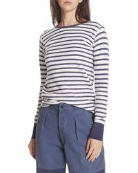 Polo Ralph Lauren - Stripe Top - Lyst