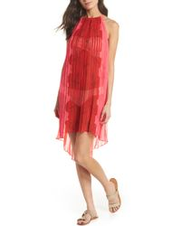 Ted Baker - Happiness Pleated Cover-up - Lyst