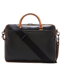 Vince Camuto - Turin Leather Briefcase - Lyst