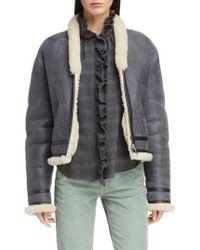 Étoile Isabel Marant - Addy Genuine Shearling Jacket - Lyst