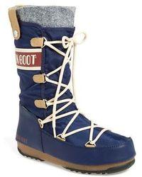 Tecnica | Monaco Water-Resistant Moon Boots  | Lyst