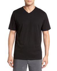 Cutter & Buck - 'sida' V-neck T-shirt - Lyst