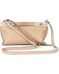 Loewe - Small Missy Leather Crossbody Bag - - Lyst