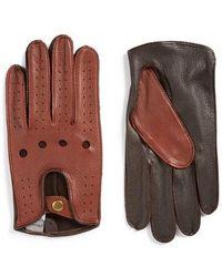 John W. Nordstrom - John W. Nordstrom Leather Driving Gloves - Lyst