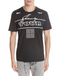 Givenchy - Tour Graphic T-shirt - Lyst