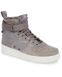 Nike - Sf Air Force 1 Mid Sneaker - Lyst