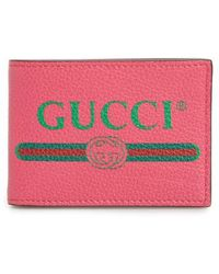Gucci | Bifold Leather Wallet | Lyst