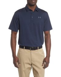 3337d6ded Under Armour Men s Ua Playoff Vented Polo for Men - Lyst