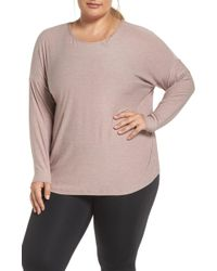 Beyond Yoga - Weekend Traveler Pullover - Lyst