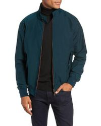 Baracuta - G9 Water Repellent Harrington Jacket - Lyst