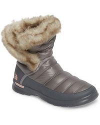 The North Face   Microbaffle Waterproof Thermoball(tm) Insulated Winter Boot   Lyst