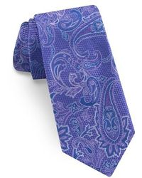 Ted Baker - Paisley Silk Tie - Lyst