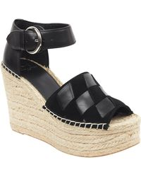 bcafe584d0c Lyst - Marc Fisher Andrew Espadrille Wedge Sandal