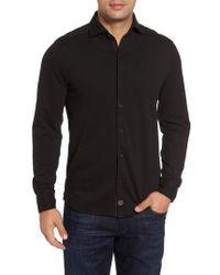 Thaddeus - Shively Pique Knit Sport Shirt - Lyst