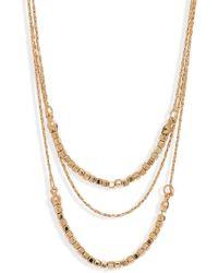 Shashi - Toni Layered Necklace - Lyst