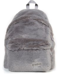 Eastpak - Padded Pak'r Faux Fur Backpack - Lyst