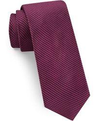 Ted Baker - Solid Skinny Silk Tie - Lyst