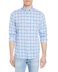 Vineyard Vines - Stoney Hill Tucker Classic Fit Plaid Sport Shirt - Lyst