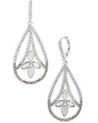 Judith Jack | Lakeside Crystal Drop Earrings | Lyst