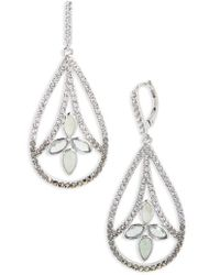 Judith Jack - Lakeside Crystal Drop Earrings - Lyst
