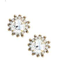 Sorrelli - Protea Donna Crystal Earrings - Lyst