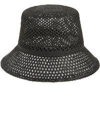 Nordstrom - Open Weave Straw Bucket Hat - - Lyst