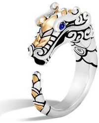 John Hardy - Legends Naga Ring - Lyst