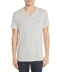 Burberry - Jadforth V-neck T-shirt - Lyst