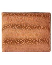 Fossil   Coby Leather Wallet - Metallic   Lyst