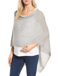 Tees by Tina - Cashmere Maternity Cape - Lyst
