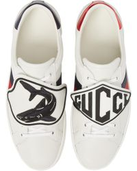 8c8c8992670 Lyst - Gucci New Ace Gg Supreme Sneaker for Men