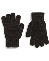 TOPSHOP - Core Glitter Gloves - Lyst