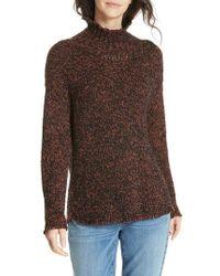 Eileen Fisher - Marled Organic Cotton Blend Sweater - Lyst