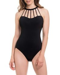 Gottex - Caged One-piece Swimsuit - Lyst