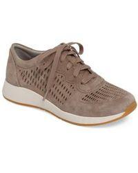 Dansko | Charlie Perforated Sneaker | Lyst