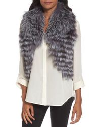 Love Token - Genuine Fox Fur Vest - Lyst