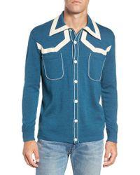 Levi's - Levi's Vintage Clothing Isaac Knit Shirt - Lyst