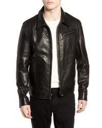 Schott Nyc - Waxy Leather Jacket - Lyst