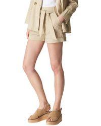 Whistles - Linen Shorts - Lyst