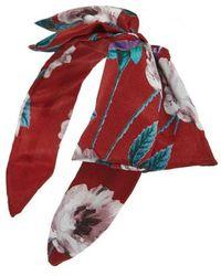 Cara - Floral Bow Headband - Lyst