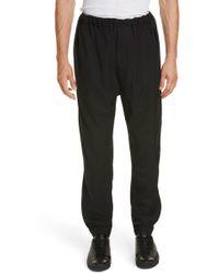 Lemaire - Tapered Leg Wool Pants - Lyst