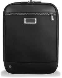 Briggs & Riley - @work Expandable Ballistic Nylon Crossbody Bag With Rfid Pocket - Lyst