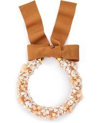 Lizzie Fortunato - Flower District Collar Necklace - Lyst