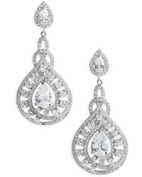 Nina - Glamorous Drop Earrings - Lyst