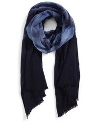 Paul Smith - Tie Dye Wool Scarf - Lyst