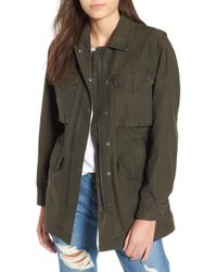 Levi's - Cotton Oversize Military Jacket - Lyst