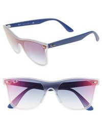 47c4df57ea Ray-Ban - 53mm Navigator Sunglasses - - Lyst. Ray-Ban - 57mm Polarized ...