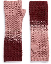 Frye Colorblock Arm Warmers - Red